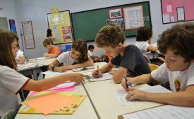 Primário II_sala de aula_alunos em grupos fazendo atividades (Copy)
